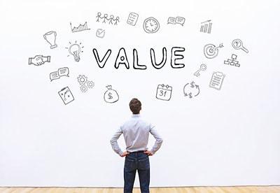 ارزش های منظم